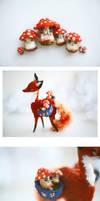 mushrooms and the fox