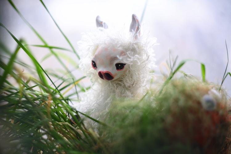 baby llama by da-bu-di-bu-da