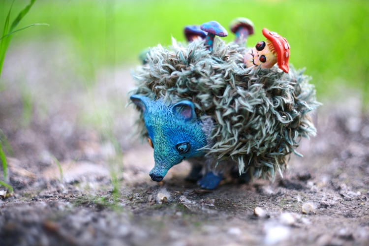 Hypno Hedgehog by da-bu-di-bu-da