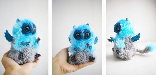 blue gryphon by da-bu-di-bu-da