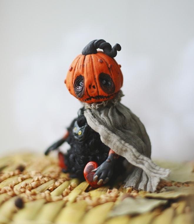 pumpkin monster by da-bu-di-bu-da