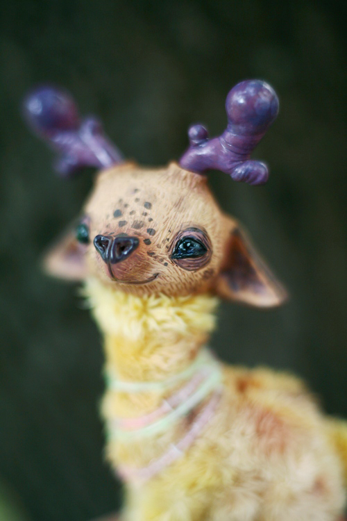 mule deer-giraffe by da-bu-di-bu-da
