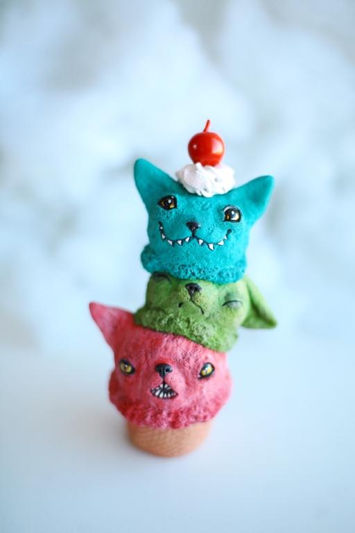 cats-cream monster by da-bu-di-bu-da