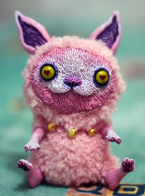 pink cat by da-bu-di-bu-da
