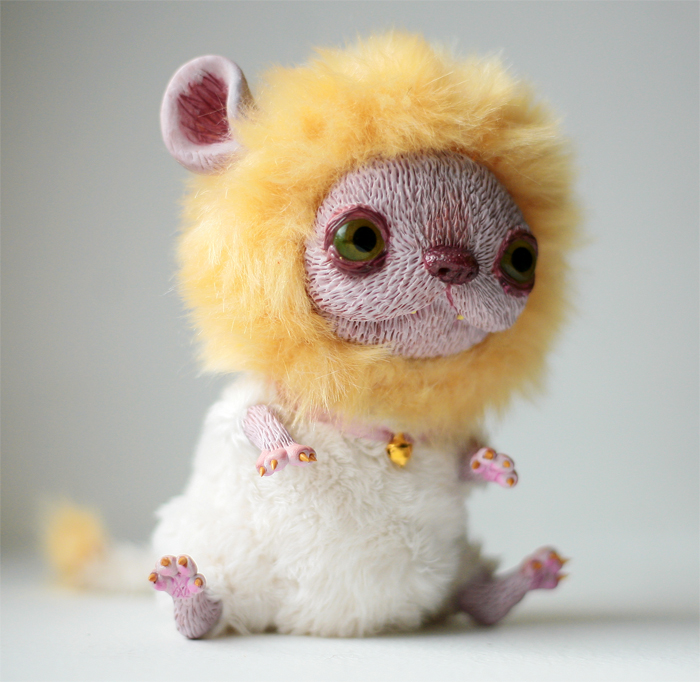 Mouse Lion by da-bu-di-bu-da