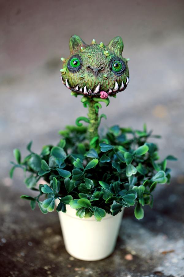 flytrap cat by da-bu-di-bu-da
