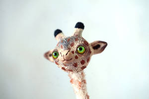 little giraffe by da-bu-di-bu-da