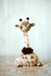little giraffe by da-bu-di-bu-da