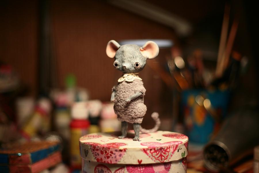 little mouse by da-bu-di-bu-da