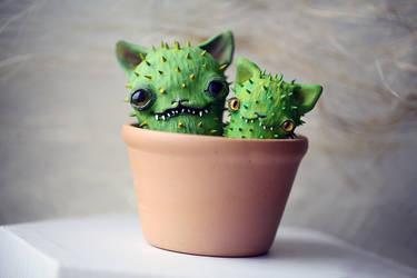 cactus buddies by da-bu-di-bu-da