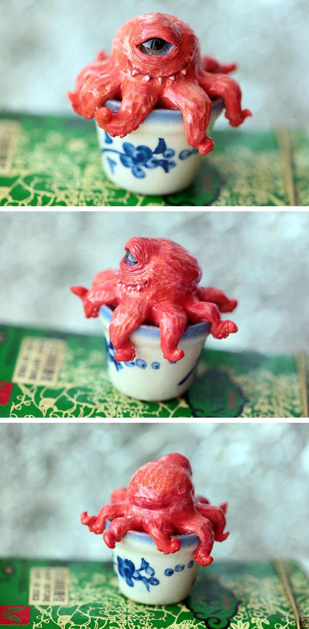 tiny octopus by da-bu-di-bu-da