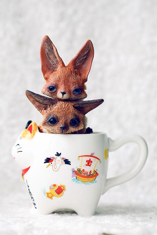 Fennec foxes by da bu di bu da on deviantart - Pagina da colorare fennec fox ...