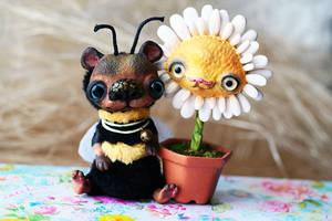 bee bear in love by da-bu-di-bu-da