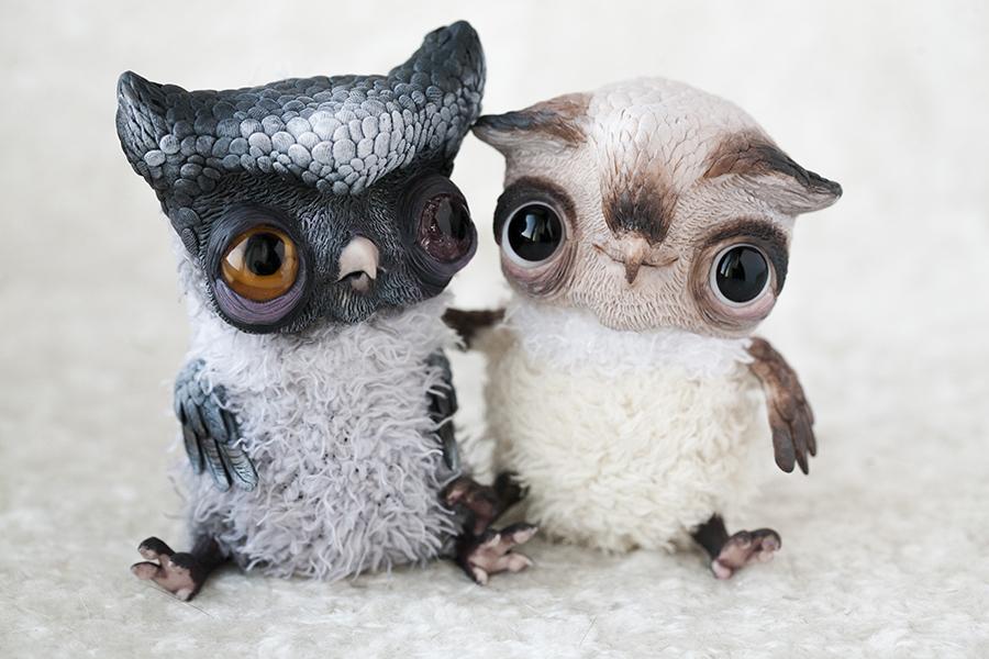owl buddies by da-bu-di-bu-da