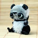 grumpy panda bear