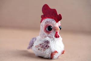 tiny rooster by da-bu-di-bu-da