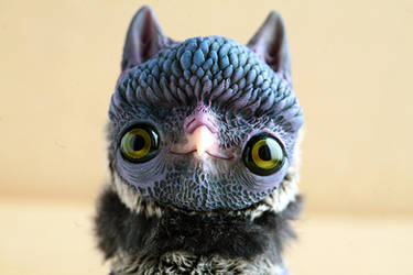 owl creature by da-bu-di-bu-da