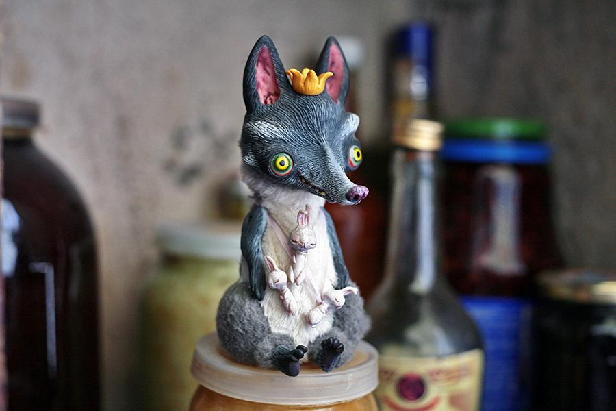 Mad King of the Rabbits by da-bu-di-bu-da
