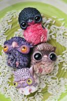 owlets by da-bu-di-bu-da
