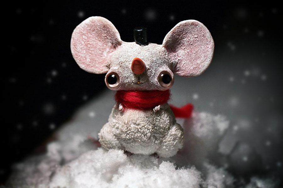 snow mouse by da-bu-di-bu-da
