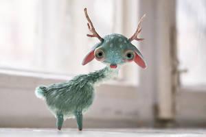 mint deer by da-bu-di-bu-da