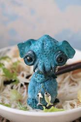 octopus ramen (blue) by da-bu-di-bu-da