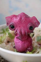 octopus ramen (hot pink) by da-bu-di-bu-da