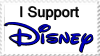 I Support Disney Stamp by 30-Secondz-to-MarZ