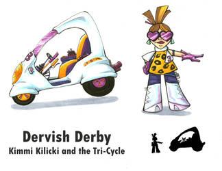Dervish Derby: Kimmi Design by Sifl-senpai