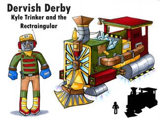 Dervish Derby: Kyle Design by Sifl-senpai