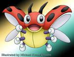 Pokemon 165 Ledyba