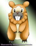 Pokemon 399 Bidoof