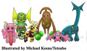 Baby Pre-Evolution Pokemon by Tetsubo