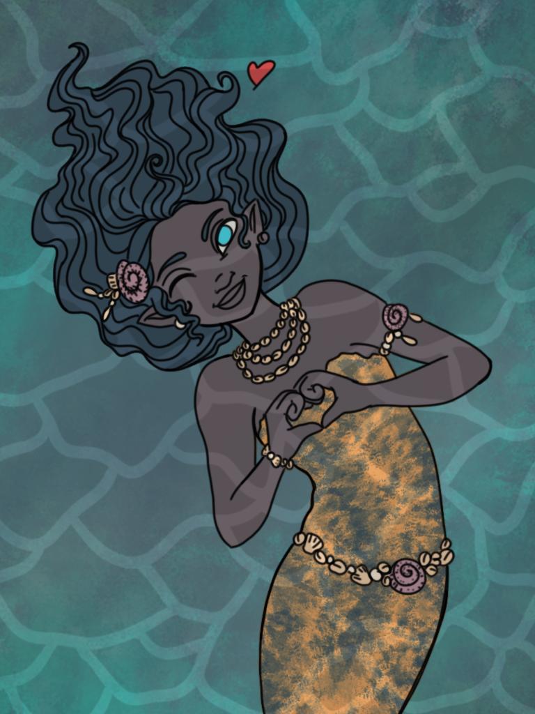 Underwater (2 of 5) by NutmegIllustrations