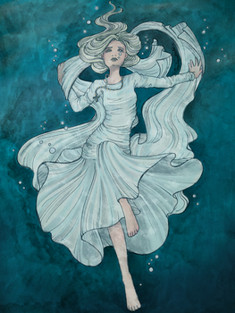 Head Above Water Colored