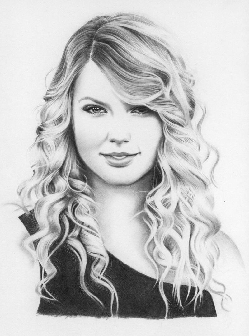 Drawing Lines With Swift : Taylor swift by hong yu on deviantart