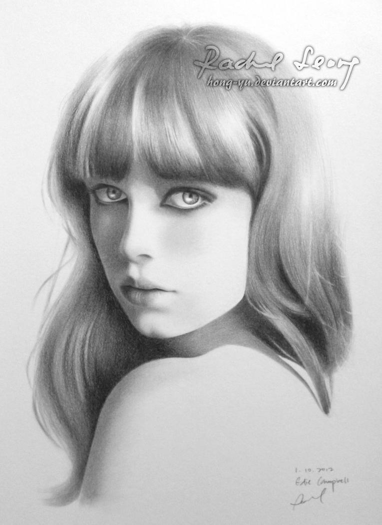 Edie Campbell 2 by Hong-Yu