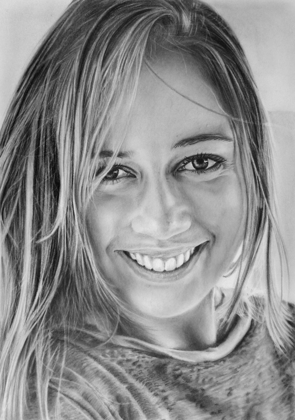 Pencil portrait of My by LateStarter63 on deviantART