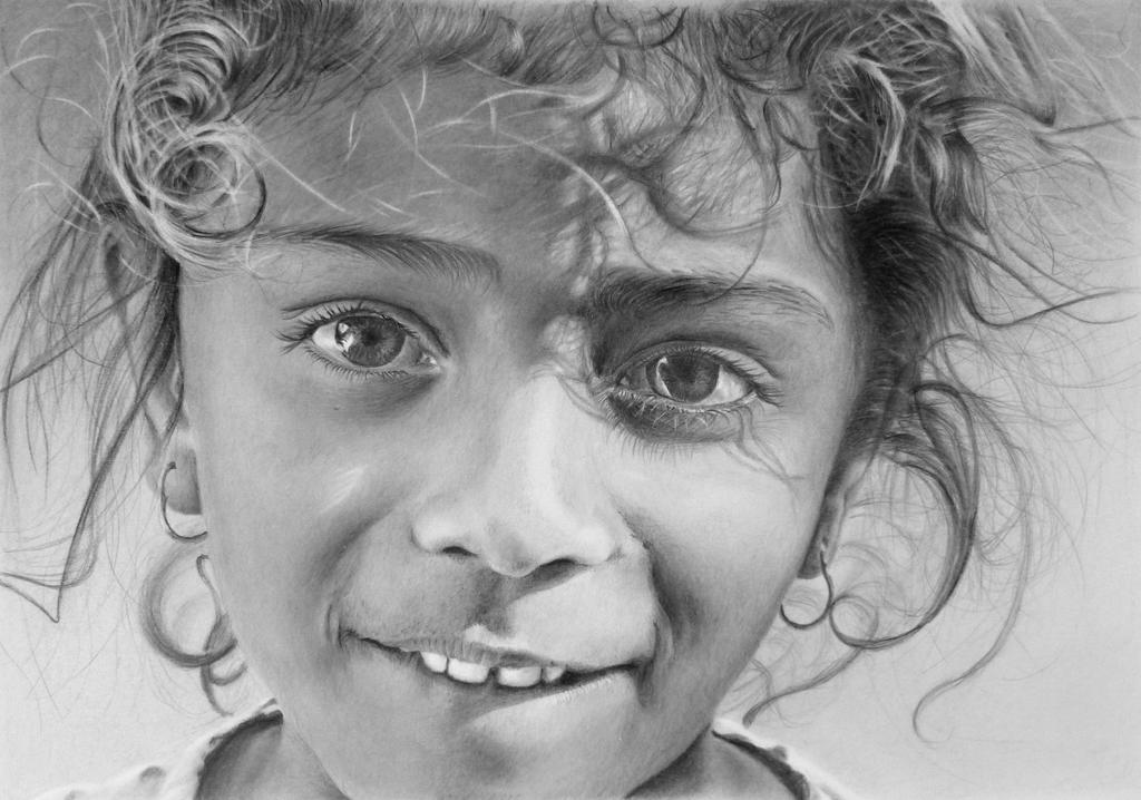 how to draw pencil portraits from photographs