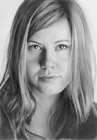 Pencil portrait of Johanna by LateStarter63