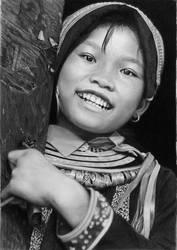 Pencil portrait of Ly Thi Vin