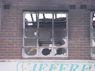 Old stock burned down office