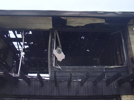 Old stock burned down house 5