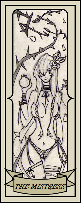 Greek Cards - The Mistress