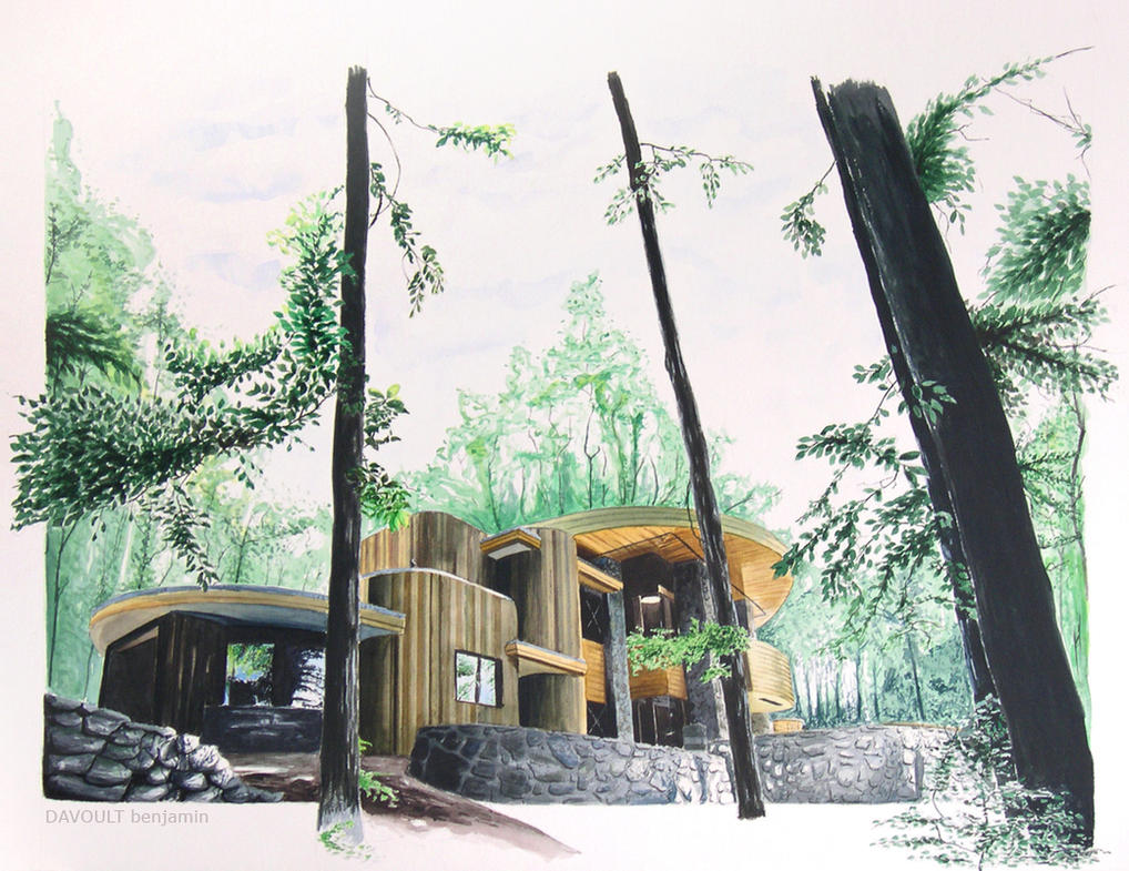 green's house by Benn25
