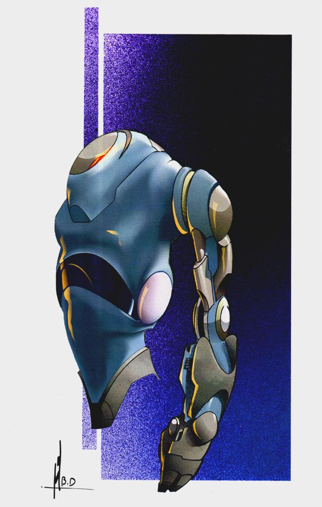 rough robot by Benn25