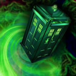 The TARDIS by Hawaiiansockmonkey