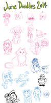 June Doodles 2014 by TopperHay