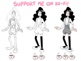 Support Me on Ko Fi by TopperHay