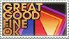 Great Good Fine Ok Stamp by lilmelt